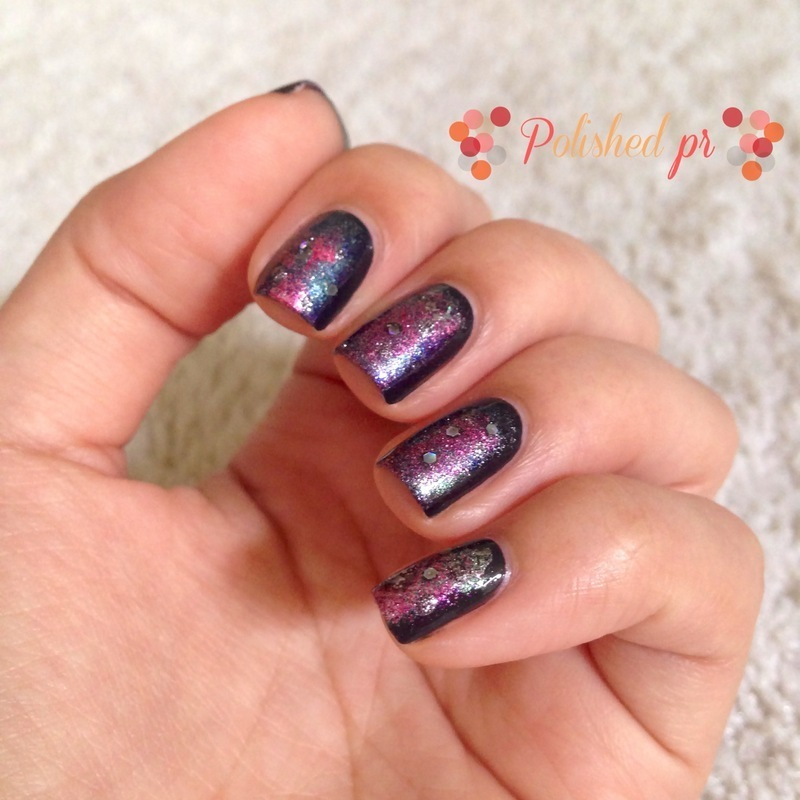 Workplace Wednesday: Galaxy Nails nail art by Jenn Thai