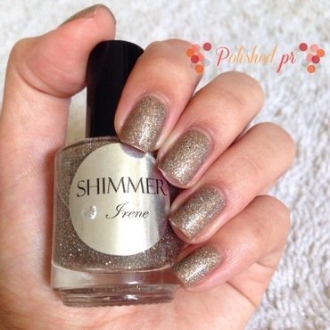Swatch: 'Irene' from Shimmer Polish nail art by Jenn Thai