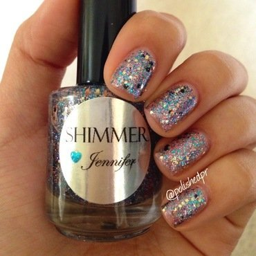 Shimmer Polish Jennifer Swatch by Jenn Thai