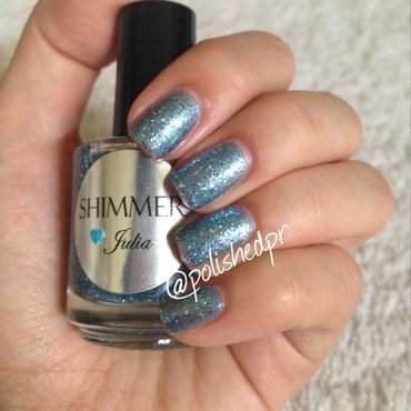 Shimmer Polish Julia Swatch by Jenn Thai
