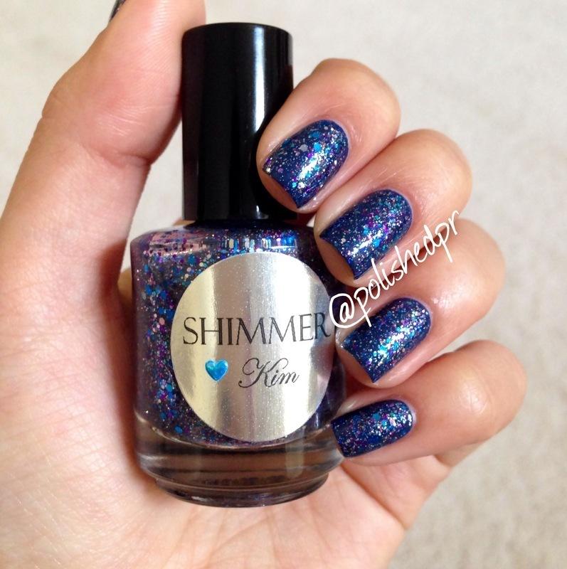 Shimmer Polish Kim Swatch by Jenn Thai