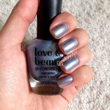 Love & Beauty Light Blue Swatch by Jenn Thai