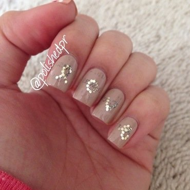 Valentine's Day: Love In Print nail art by Jenn Thai