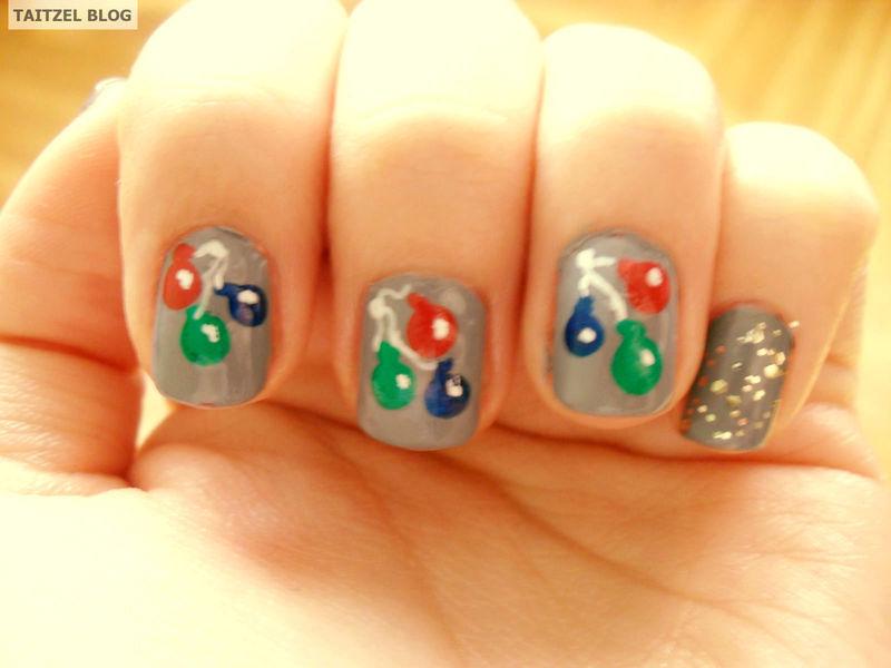 Baloon nails nail art by Teo