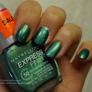 Maybelline Be Scene in Green Swatch by Stephanie L