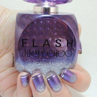 Jimmy choo flash inspired nails  2  thumb370f