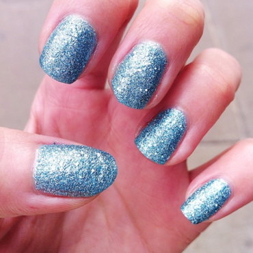 OPI Tiffany Case Swatch by Tippy Hung