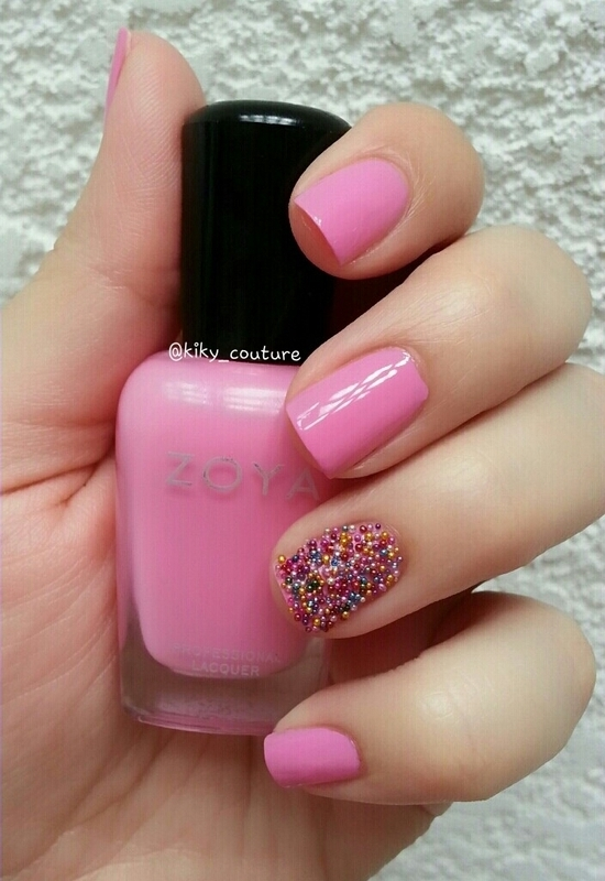 Candies nail art by Ximena Echenique