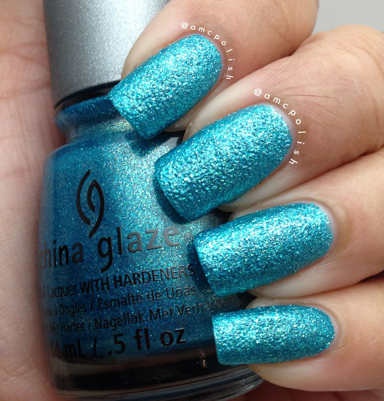 China Glaze Seahorsin' Around Swatch by Amber Connor