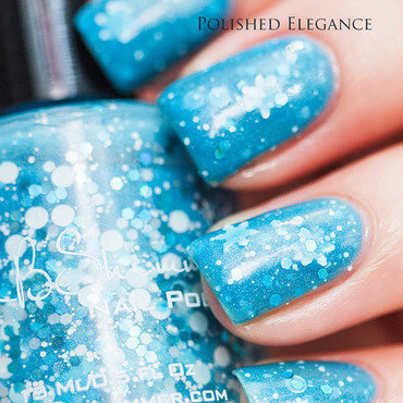 KBShimmer Snow Much Fun Swatch by Lisa