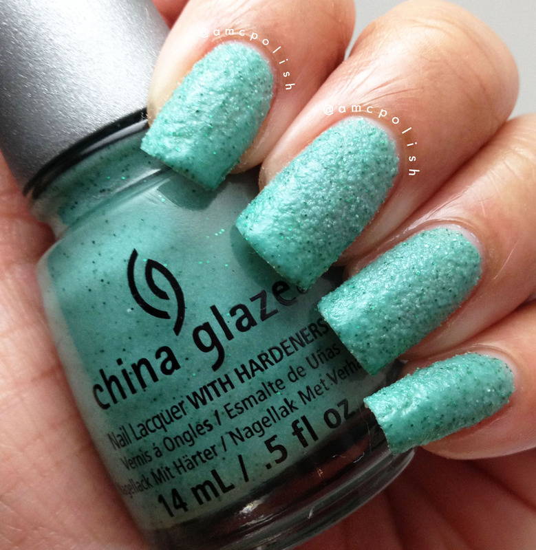 China Glaze Teal The Tide Turns Swatch by Amber Connor