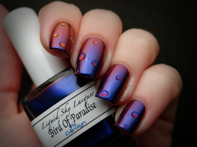 Liquid Sky Lacquer Bird of Paradise Swatch by Kim