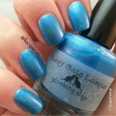 Sassy Cats Lacquer Mocking Jay Swatch by Mohrayma C.