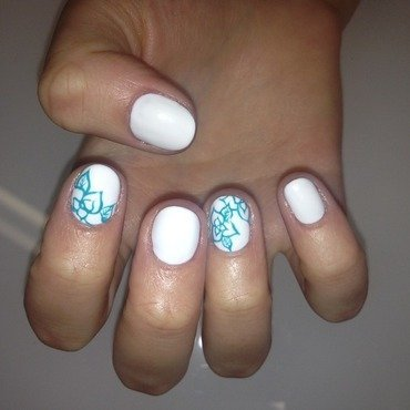 Is it Spring yet? nail art by Laurelle Alexandra