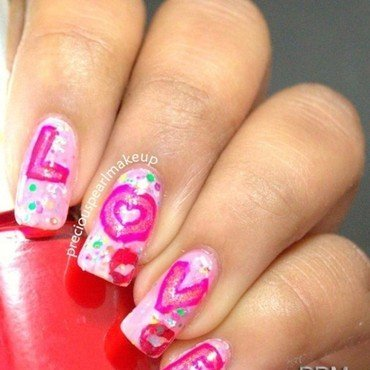 Valentine day nail art 3 001 thumb370f