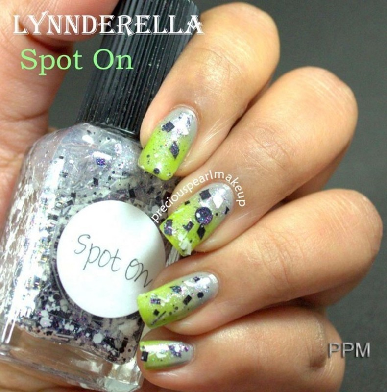 Lynderella Spot On nail art by Pearl P.