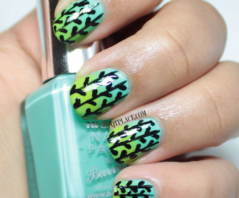 Spring woods nail art nail art by Mattania