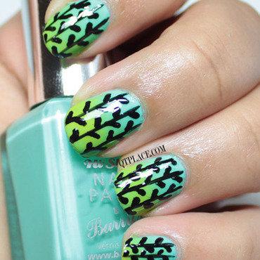 Leafs nail art  thumb370f