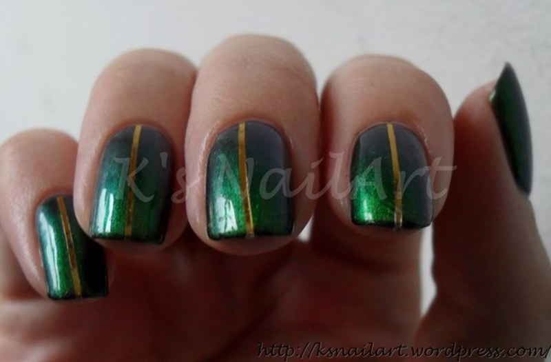 "Beetles nail art by Kairi E ""K's NailArt"""