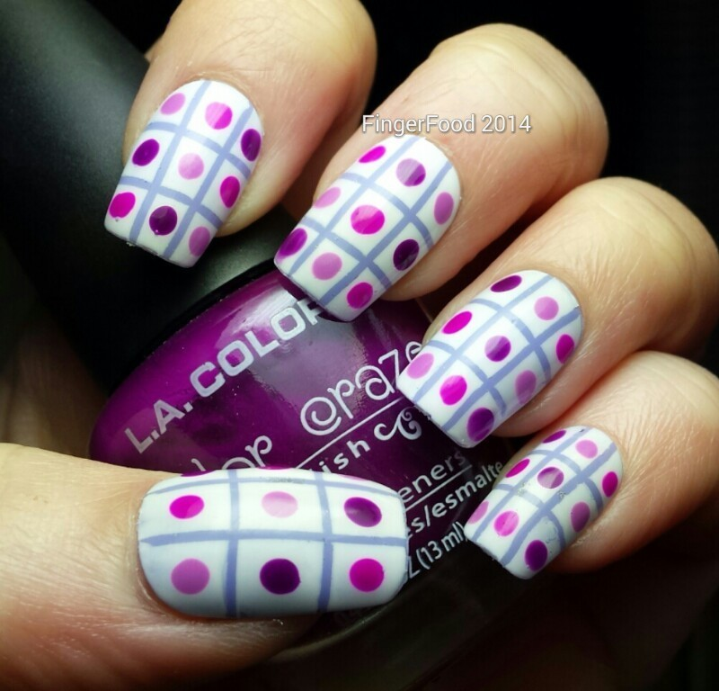 Nail Designs Stripes And Dots Buffet Dots And Stripes Nail