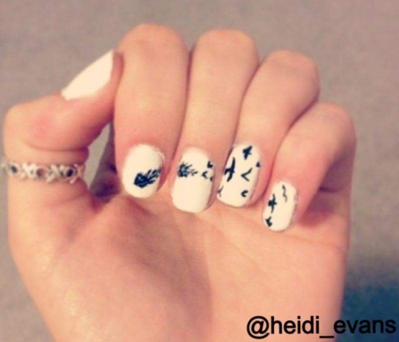 Transformation nail art by Heidi  Evans