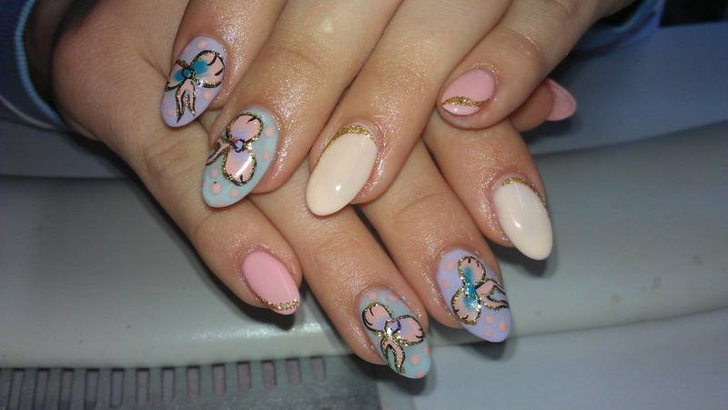 pastel fashion nail art by Marija  Janeva