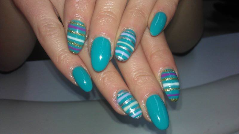 Hello march :) nail art by Marija  Janeva