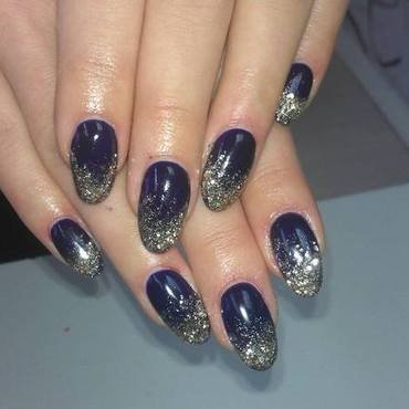A little bit of luxury ;) nail art by Marija  Janeva
