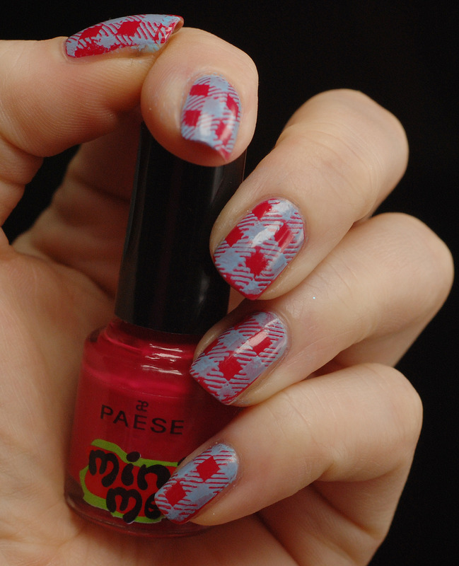 Flanel shirt?? nail art by Yasinisi