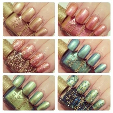 Barry m aquarium collection swatches thumb370f