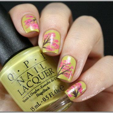 Printemps nail art by Mary Monkett