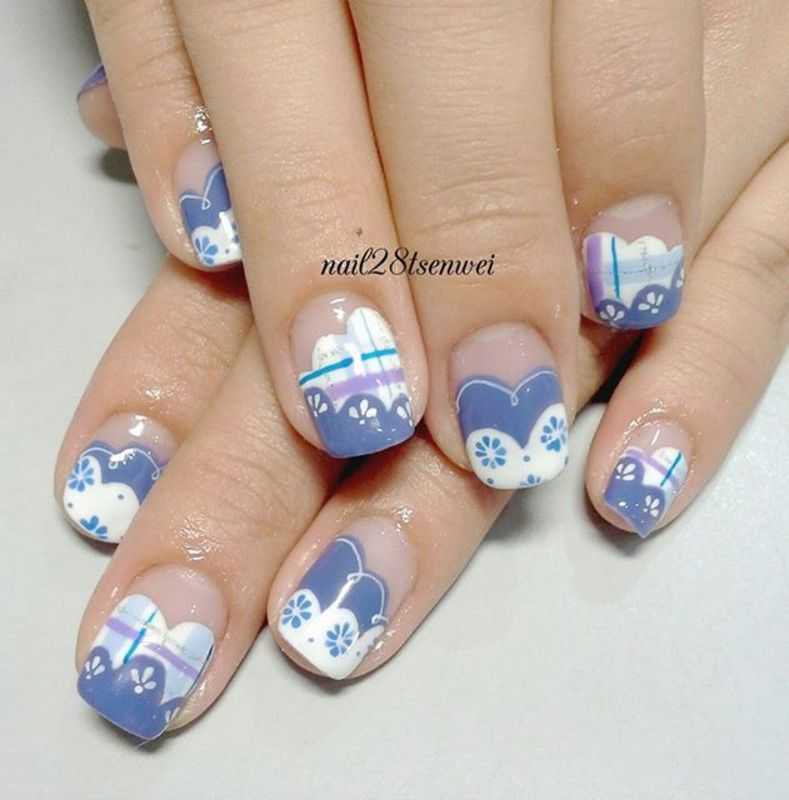 sweet nail art by Weiwei