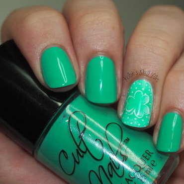 St. Patty's Day!  nail art by Kelsie