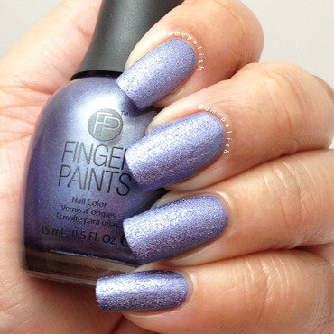 Finger Paints Rock Hard Lilac Swatch by Amber Connor