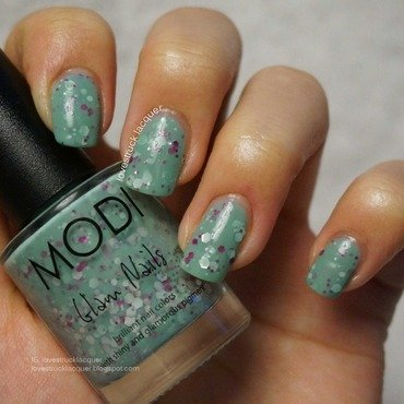 Modi 74 and Modi Classy Mint Swatch by Stephanie L