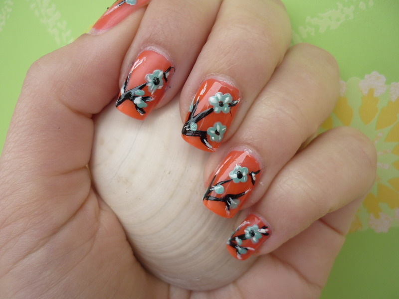 ❀ Nails in bloom ❀ nail art by Rachele