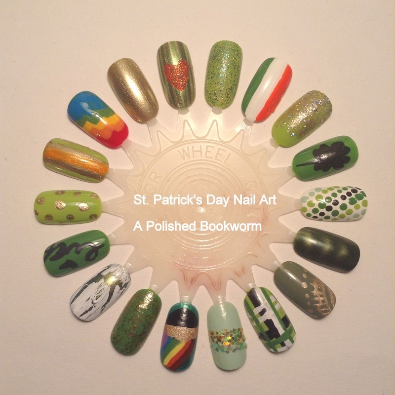 18 Designs for St. Patrick's Day nail art by Kacey  Nelsestuen
