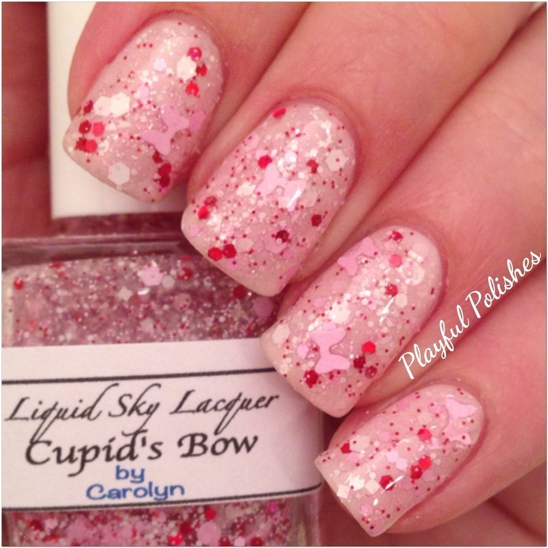 Liquid Sky Lacquer Cupid's Bow Swatch by Playful Polishes