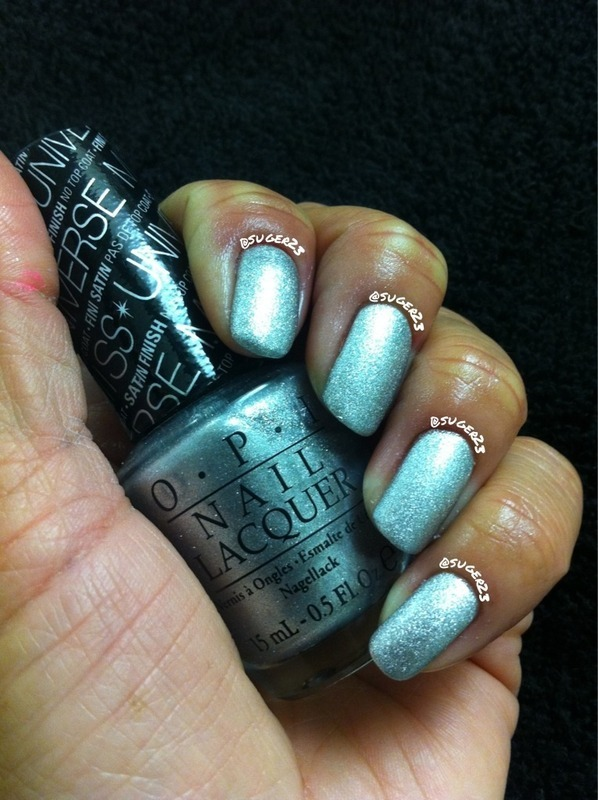 2013 Miss Universe nail art by Genevieve  Clay-Poor