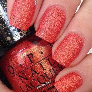 OPI Liquid Sand Jinx Swatch by Giovanna - GioNails
