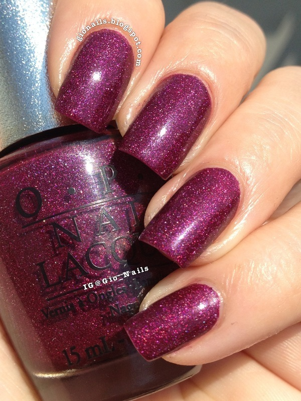 OPI DS Extravagance Swatch by Giovanna - GioNails
