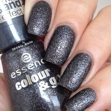 Essence Sparkle Sand Effect Here's My Number Swatch by Giovanna - GioNails