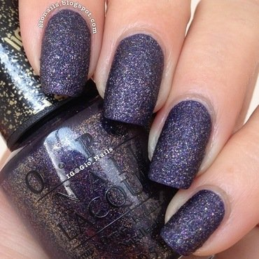 OPI Liquid Sand Alcatraz...Rocks Swatch by Giovanna - GioNails