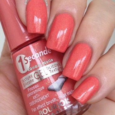 Bourjois Corail Magique Swatch by Giovanna - GioNails