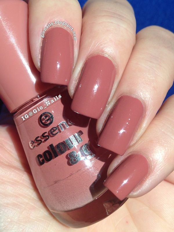 Essence Colour Amp Go English Rose Swatch By Giovanna