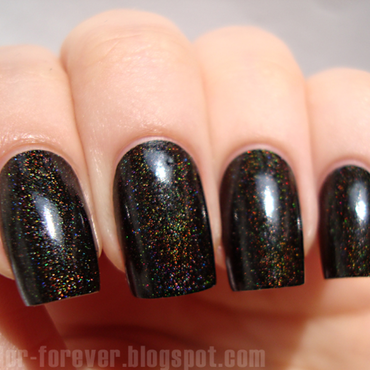 Colour Alike Black Saint Swatch by ania