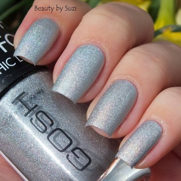 GOSH 549 Holographic Hero Swatch by Suzi - Beauty by Suzi