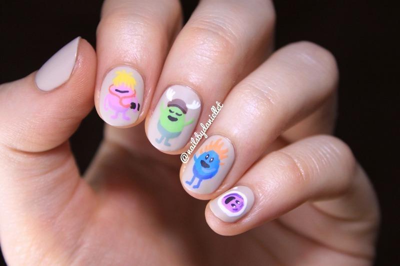 So mani dumb ways to die 😋 nail art by Danielle