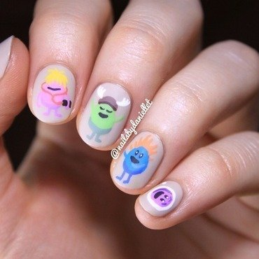 So mani dumb ways to die 😋 nail art by Danielle