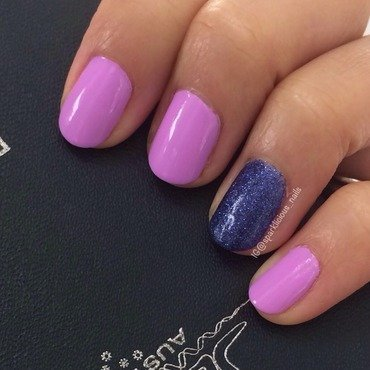 """China Glaze All wrapped up and Color Club Wicker Park Swatch by Amanda """"Sparklicious Nails"""""""